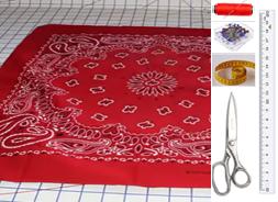 Como hacer tops peplum con pañuelos en simples pasos2