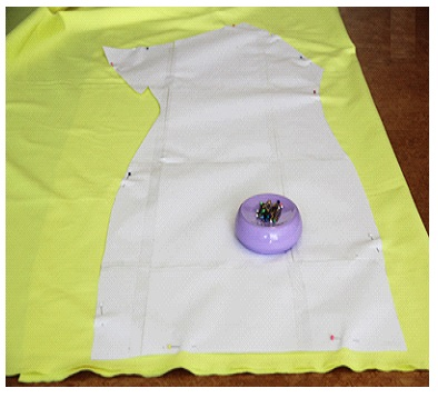 Como hacer vestidos de un solo hombro ajustados en simples pasos ¡Con neopreno!2