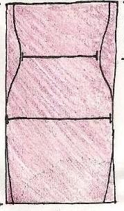Como hacer vestidos elegantes hombros caidos en simples pasos ¡Moldes sencillos!2