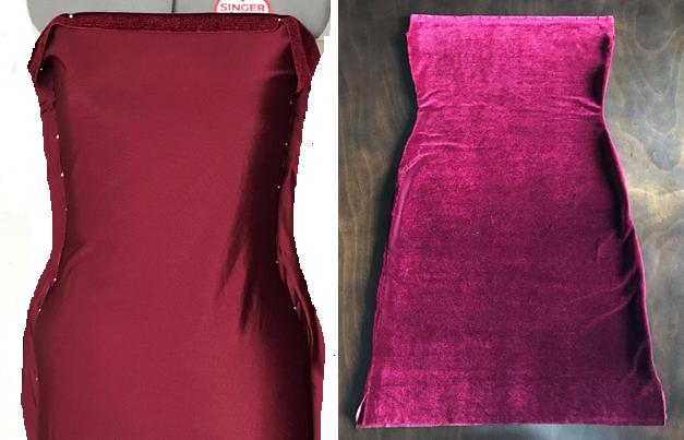 Como hacer vestidos elegantes hombros caidos en simples pasos ¡Moldes sencillos!3