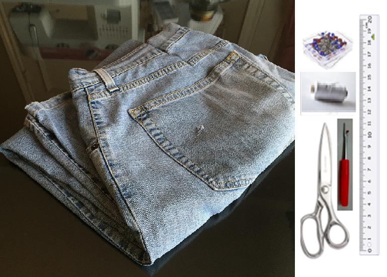 Como hacer blusas modelo túnica con jeans reciclados ¡Perfecta para el verano!2