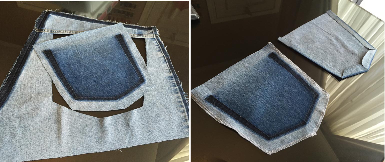 Como hacer blusas modelo túnica con jeans reciclados ¡Perfecta para el verano!8