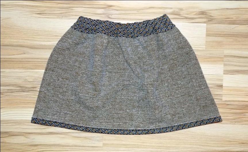 Como hacer faldas sencillas sin moldes en simples pasos10