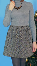 Como hacer faldas sencillas sin moldes en simples pasos11