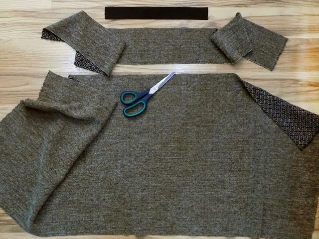 Como hacer faldas sencillas sin moldes en simples pasos3