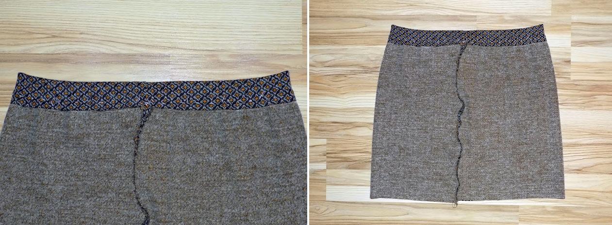 Como hacer faldas sencillas sin moldes en simples pasos8