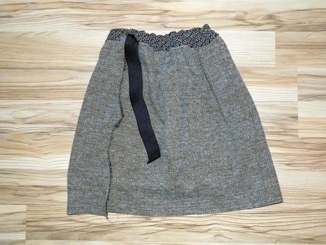 Como hacer faldas sencillas sin moldes en simples pasos9