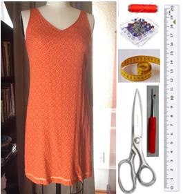 Como hacer tops ligeros con vestidos largos reciclados ¡Perfectos para este verano!2