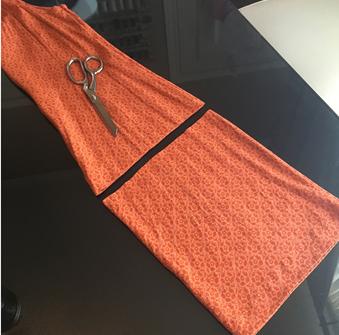 Como hacer tops ligeros con vestidos largos reciclados ¡Perfectos para este verano!4