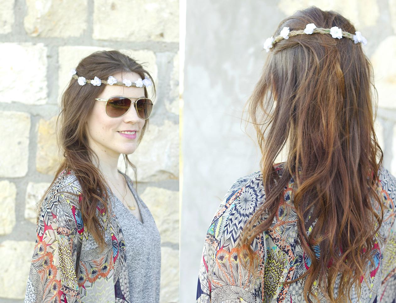 Como hacer coronas de flores ¡Tu cabello de encanto aun en verano!1