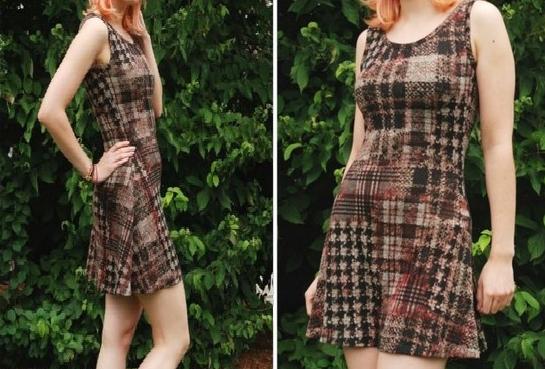 Como hacer vestidos casuales con moldes de trazados sencillos1
