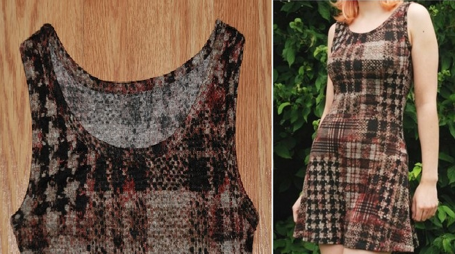 Como hacer vestidos casuales con moldes de trazados sencillos9