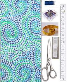 Como hacer diademas de tela a medida en simples pasos2