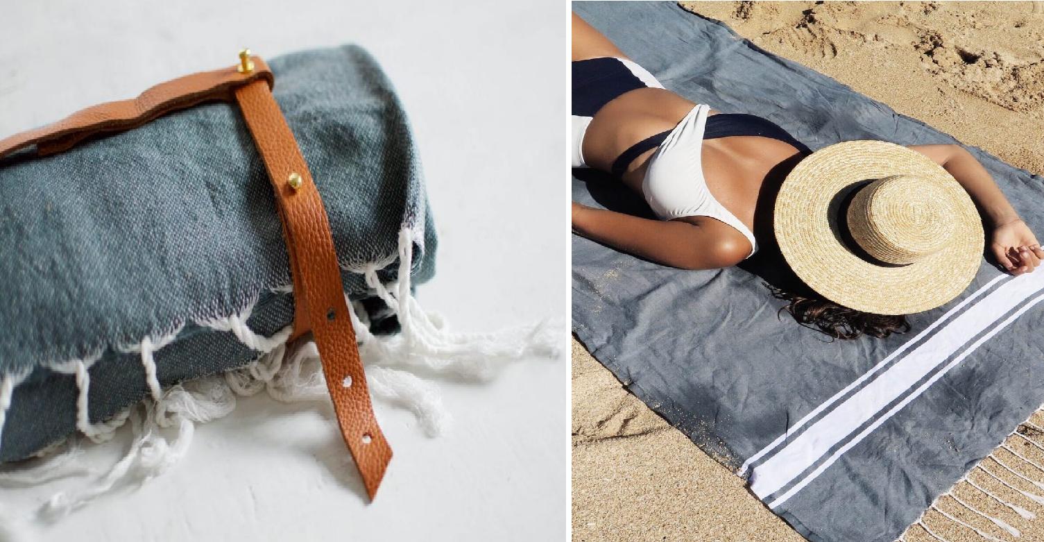 Como hacer sujetadores de toallas para llevarles a la playa ¡Verano perfecto en todo sentido!1