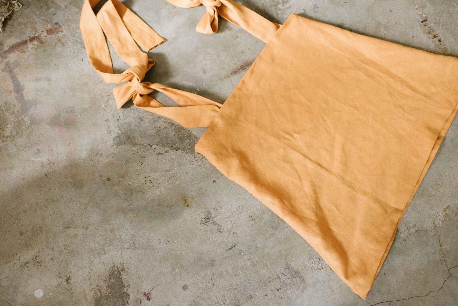 Como hacer tops con tiras para anudar en lino ¡Costuras perfectas para principiantes!6