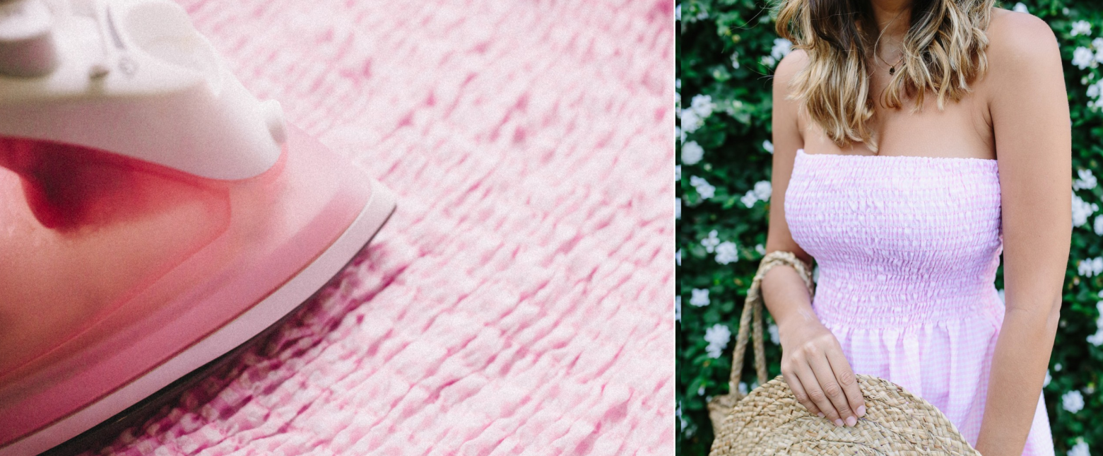 Como hacer vestidos sin mangas fruncidos con moldes sencillos ¡Luce preciosa todo el verano!7