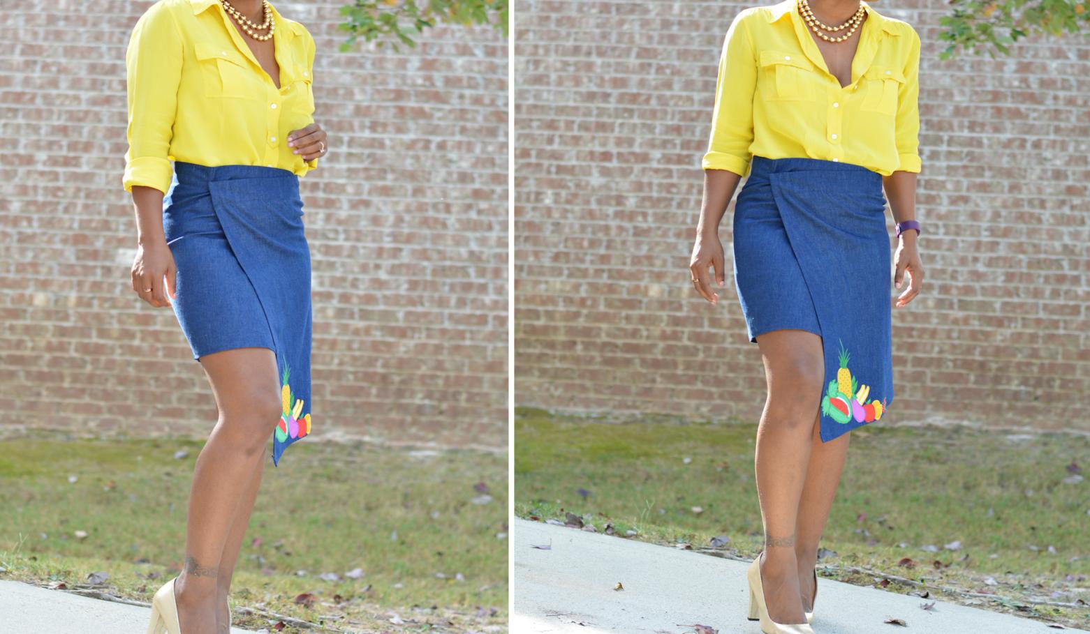 Como hacer faldas asimétricas preciosas con viejas faldas largas 5