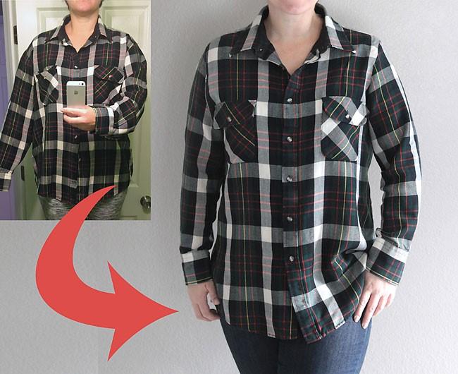 Como reducir tallas a camisas de manera fácil sin dañar su forma 1