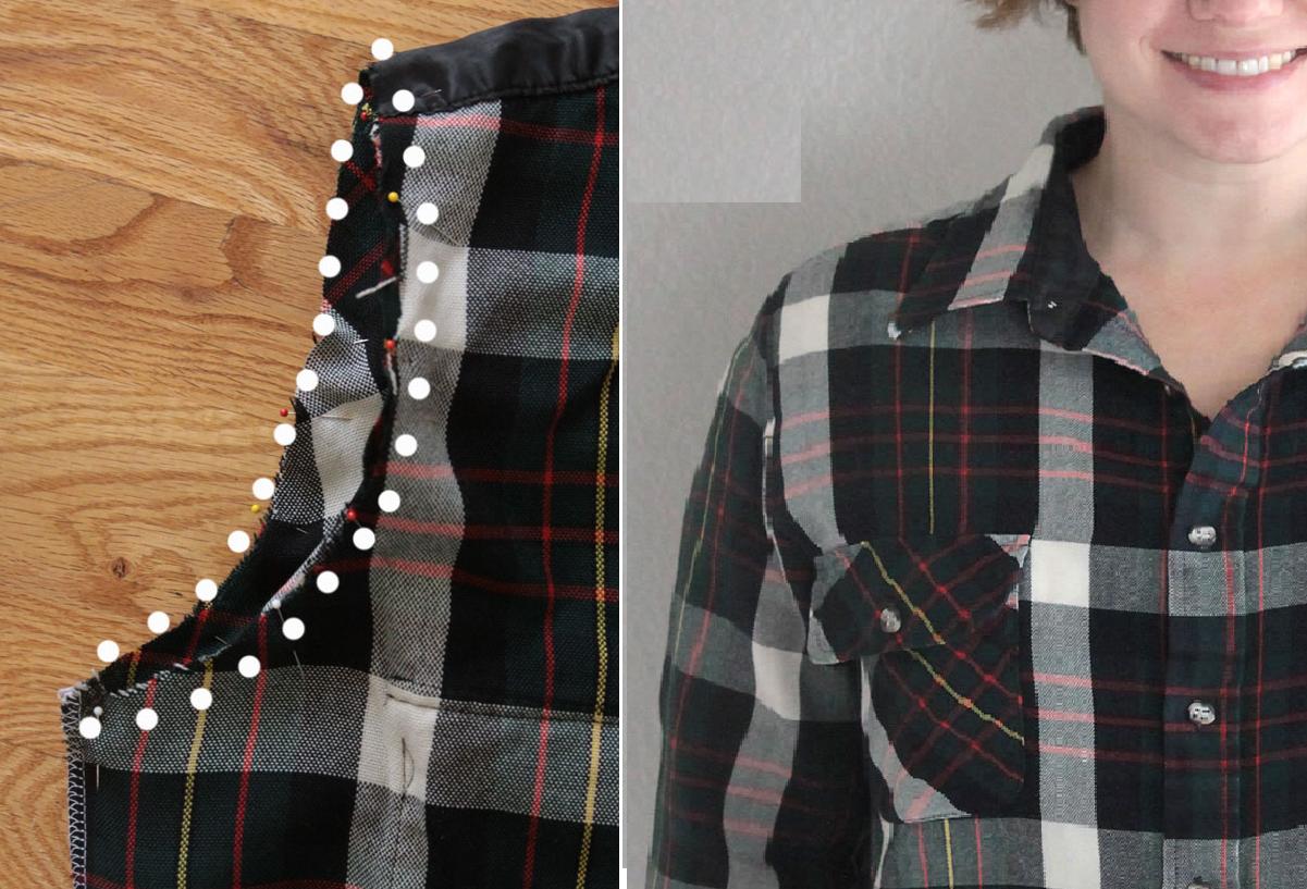 Como reducir tallas a camisas de manera fácil sin dañar su forma 6