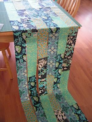 Como hacer bufandas preciosas con retazos de tela reciclados2