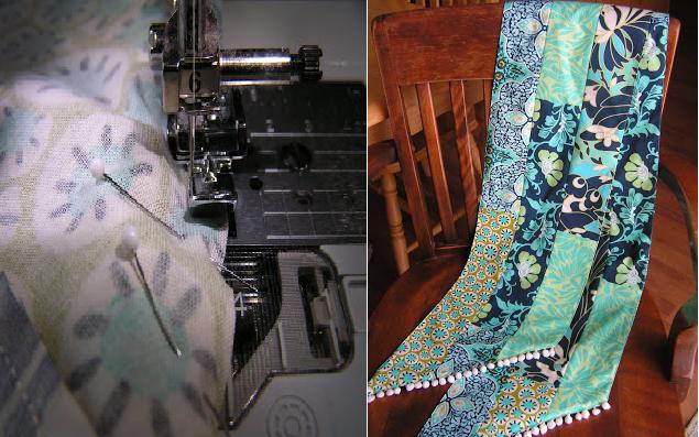 Como hacer bufandas preciosas con retazos de tela reciclados6