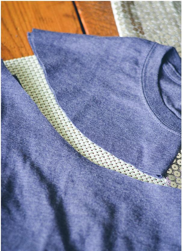 Como hacer camisetas off shoulder perfectas para el verano ¡Costuras a mano!3