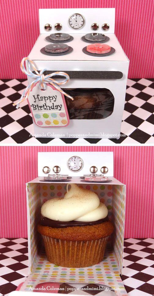 Como regalar un cupcake en un cumpleaño