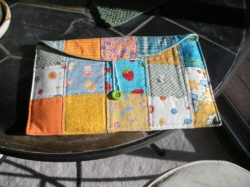 Funda para Kindle patchwork