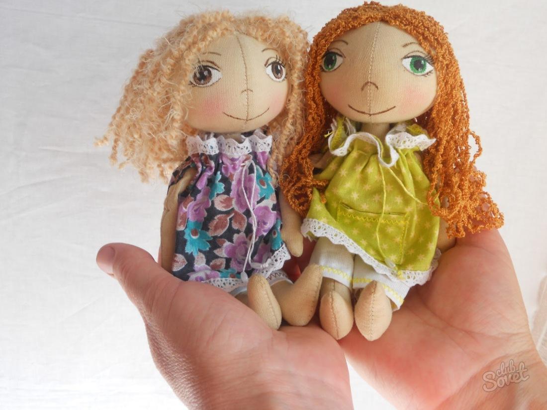 Moldes para hacer una muñeca de tela
