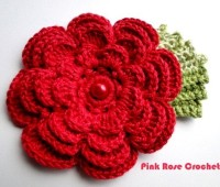 Flores a crochet ideas faciles
