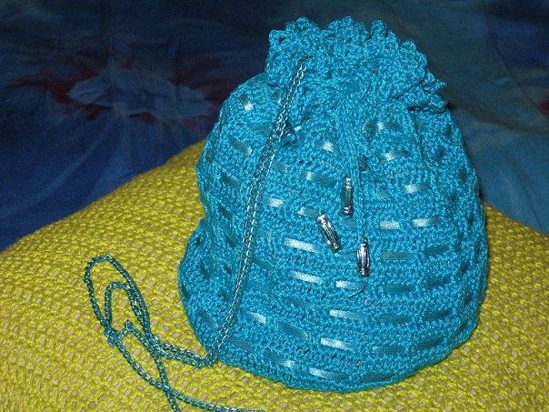 modelos para hacer un bolso de playa a crochet