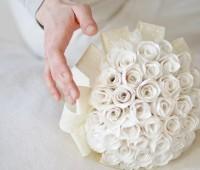 Como hacer un ramo de novia con flores de papel