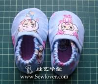 Como hacer unas pantuflas para bebe paso a paso