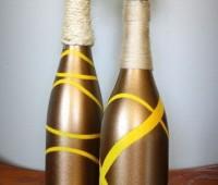 Ideas para decorar botellas de vino y licor
