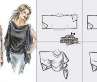 modelos de para hacer una tunica para dama
