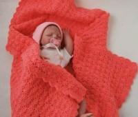 Manta para bebes tejidos a crochet con patrones