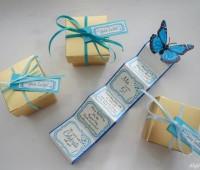 Moldes para hacer cajitas para recuerdos de Baby Shower