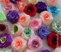 Paso a paso para hacer flores con listones