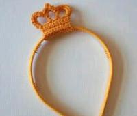 modelos para hacer coronas a crochet para bebe