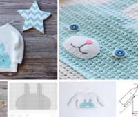 Patron para hacer un sueter tejido a crochet para bebe