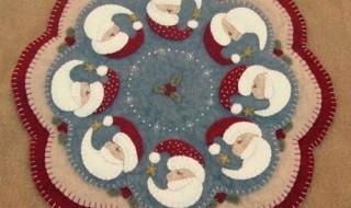 15 ideas para hacer un pie de arbol navideño05