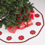 20 ideas Pie de arbol navideño tejido a crochet15