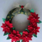 20 ideas para hacer coronas navideñas12