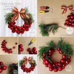 20 ideas para hacer coronas navideñas13