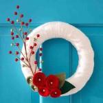 20 ideas para hacer coronas navideñas18