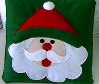 Modelos Almohadas navideña