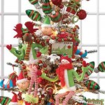 Ideas para decorar arbol navideño con peluches02
