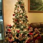 Ideas para decorar arbol navideño con peluches08