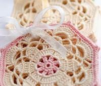 Patron para hacer posavasos tejidos a crochet