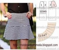 Patrones para hacer faldas bonitas y de moda